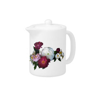 Old Fashioned Roses Teapot