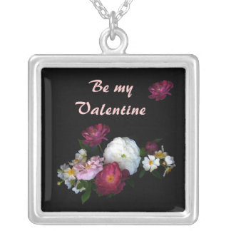 Old Fashioned Roses Valentine Pendants