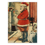 Old Fashioned Santa Cards