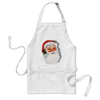 Old Fashioned Santa Claus Aprons
