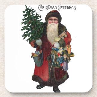Old Fashioned Santa Claus Coaster