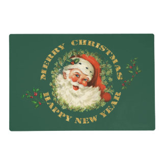 Old Fashioned Santa Claus Placemat