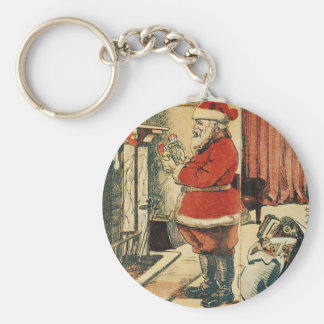 Old Fashioned Santa Keychain