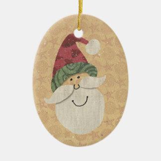 Old Fashioned Santa Ornament