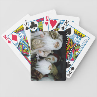 OLD FASHIONED SANTA PLAYING CARDS