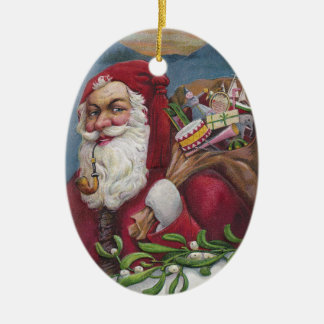 Old Fashioned Santa Ornaments Keepsake Ornaments Zazzle