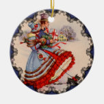 Old Fashioned Shopping Christmas Ornament