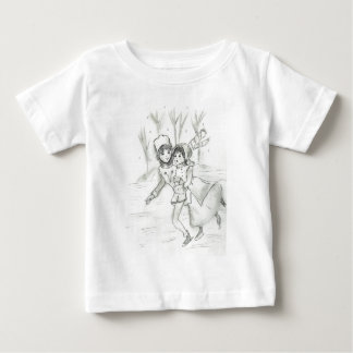 Old Fashioned Skaters Baby T-Shirt