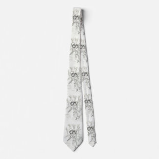 Old Fashioned Skaters Neck Tie