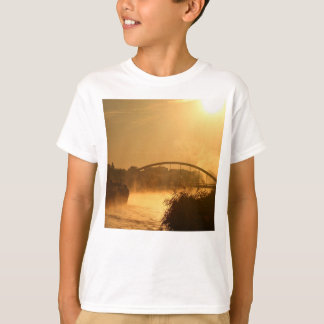 Old-fashioned steamboat with paddlewheel T-Shirt