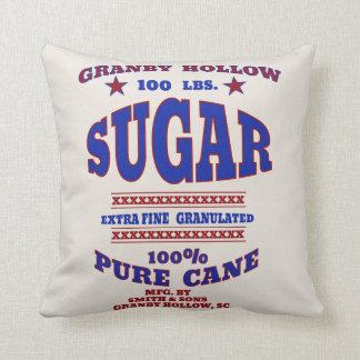 Old Fashioned Sugar Bag Design Pillows