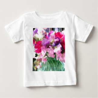 Old Fashioned Sweetpeas in a Jar Baby T-Shirt