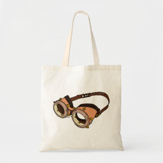 Old fashioned swimming goggles tote bag