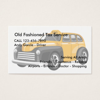 Cabbie Business Cards & Templates | Zazzle