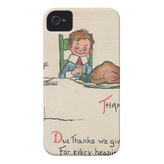old fashioned thanksgiving Case-Mate iPhone 4 cases