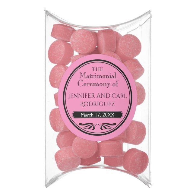 Old Fashioned Themed Wedding Favors Gum Your Color