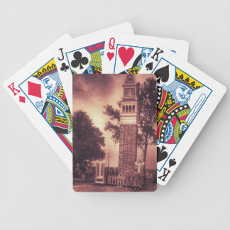 OLD FASHIONED TOWER BICYCLE PLAYING CARDS