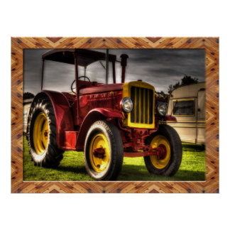Old Fashioned Tractor Posters