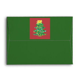 Old Fashioned Tree Envelope
