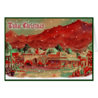 Old Fashioned Tubac Christmas Card