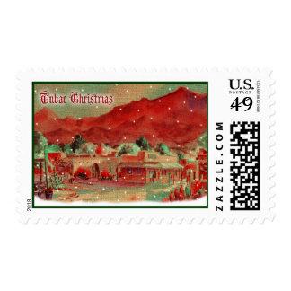 Old Fashioned Tubac Christmas USPS Postage