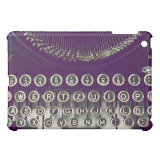old fashioned typewriter cover for the iPad mini