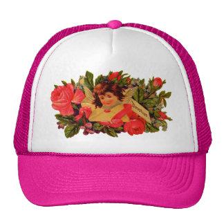 Old Fashioned Valentine Cupid Trucker Hat