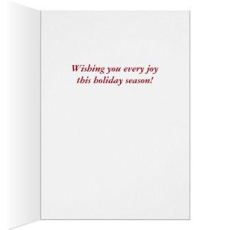 Old-fashioned Victorian Saint Nicholas Card