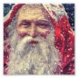Old-fashioned Victorian Saint Nicholas Photo Print
