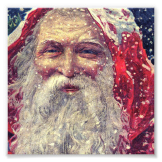 Old-fashioned Victorian Saint Nicholas Photo Print