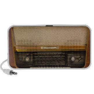 Old Fashioned Vintage Radio 1 Travel Speaker