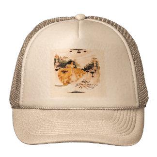 Old Fashioned Vintage Valentine Greetings Trucker Hat