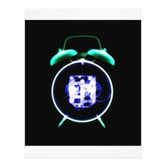 Old Fashioned X-Ray Vision Alarm Clock - Original Flyer Design
