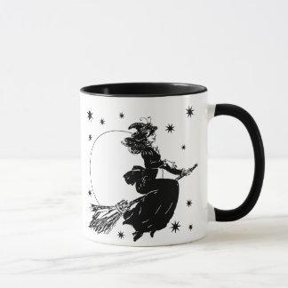 Old Fashoned Witch Mug