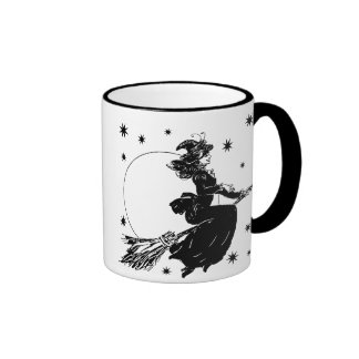 Old Fashoned Witch Coffee Mug