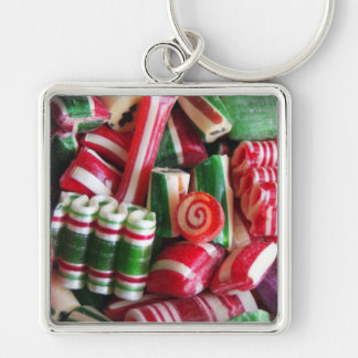 Old Fasioned Christmas Candy Keychain