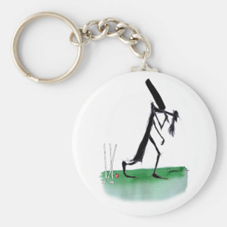 old father time - cricket, tony fernandes keychain