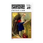 OLD FATHER TIME & NEW YEAR BLUE BOY DAY STAMPS