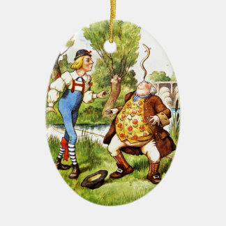 Old Father William From Alice in Wonderland Ceramic Ornament