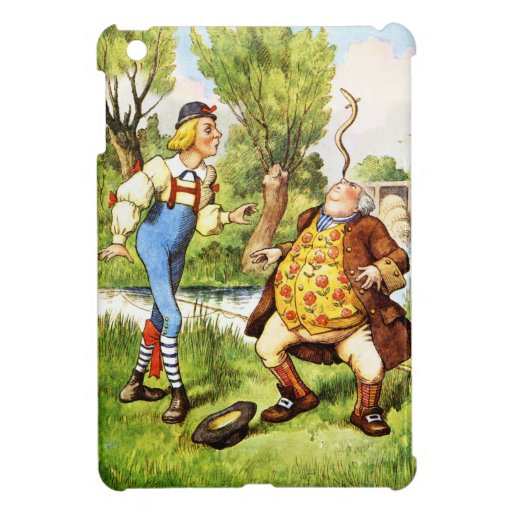 Old Father William From Alice in Wonderland iPad Mini Cover