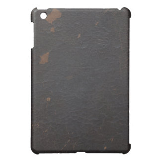 Old Faux Leather Book Cover iPad Case