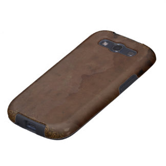 Old Faux Leather Book Cover Samsung Galaxy S3 Case