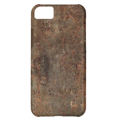 Old Faux Leather Print iPhone 5C Cases