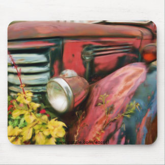 Old Federal Truck Mouse Pad