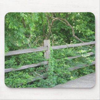 Old Fence Mouse Pad
