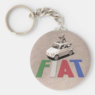 old fiat keychain