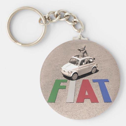 old fiat keychains