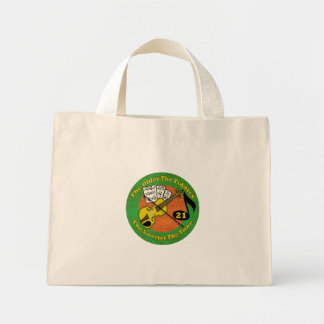 Old Fiddler 21st Birthday Gifts Tote Bags