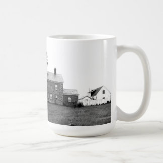 Old Field Point Lighthouse Classic White Coffee Mug