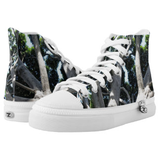 Old Fig Tree High-Top Sneakers